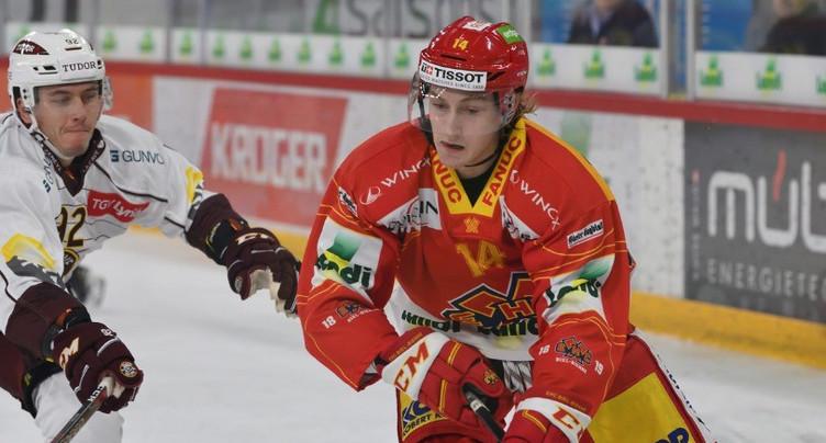 Janis Moser blessé et out 4 à 6 semaines