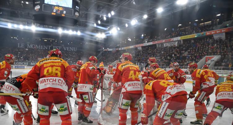 Le HC Bienne face à Hüttwil en Coupe de Suisse