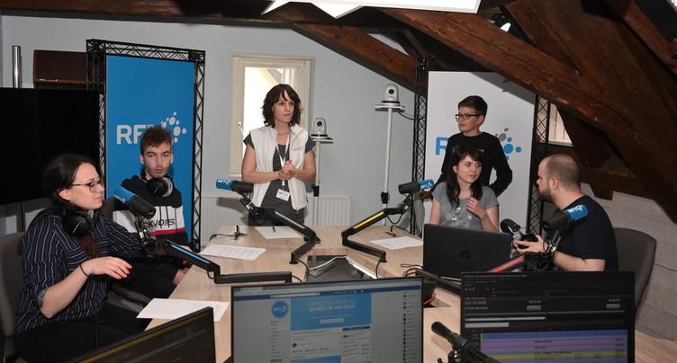 Leur premier journal radio sur RFJ