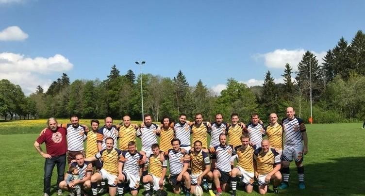La Chaux-de-Fonds gagne en rugby