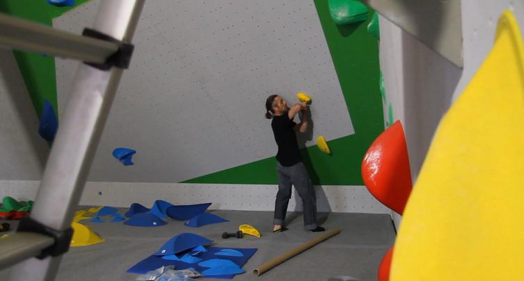Le projet de salle d'escalade à Delémont est à bout touchant
