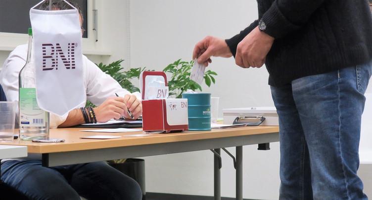 Le groupe d'entrepreneurs BNI pour le Jura bernois et Bienne fondé
