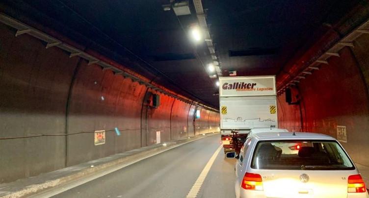 Accident et trafic perturbé sur l'A5