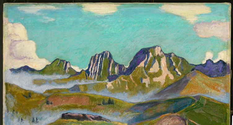 Ferdinand Hodler fait halte dans le Jura