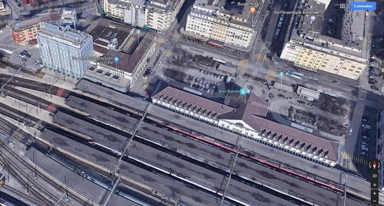 Vers le désengorgement de la gare de Bienne