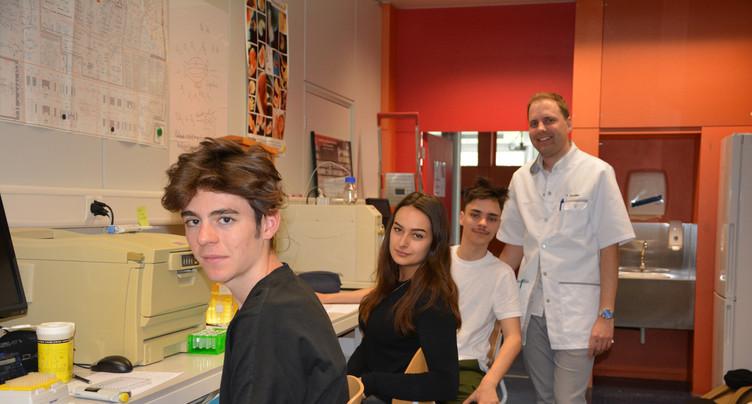 Le projet d'une classe de Moutier primé par l'EPFL