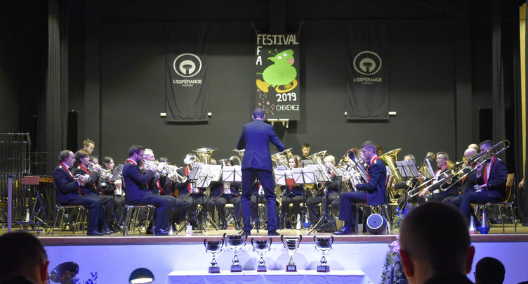 La Covatte s'illustre au 21e Festival des Fanfares d'Ajoie