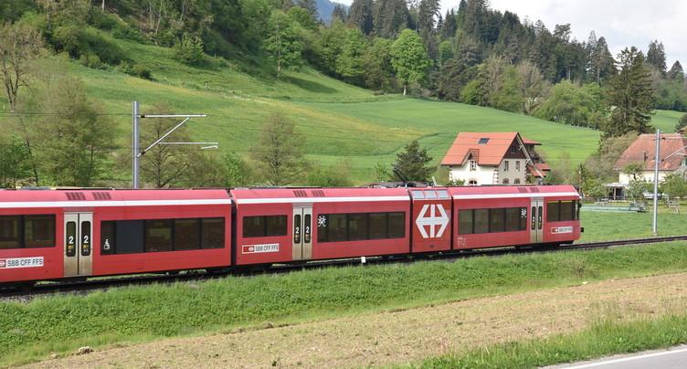 Trafic ferroviaire perturbé dans le Jura bernois