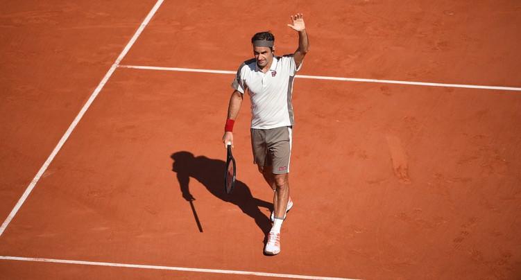 Roger Federer passe en quarts