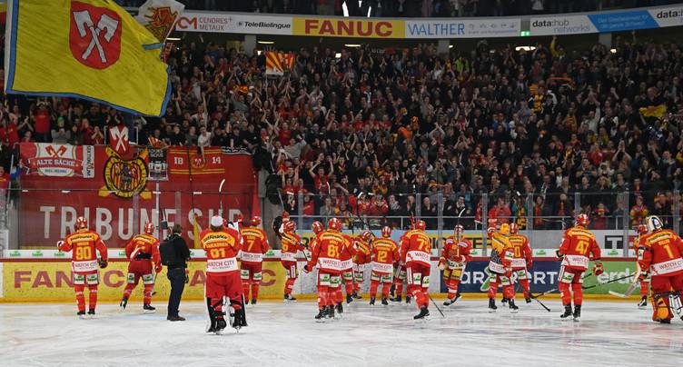 Les débuts européens à la Tissot Arena