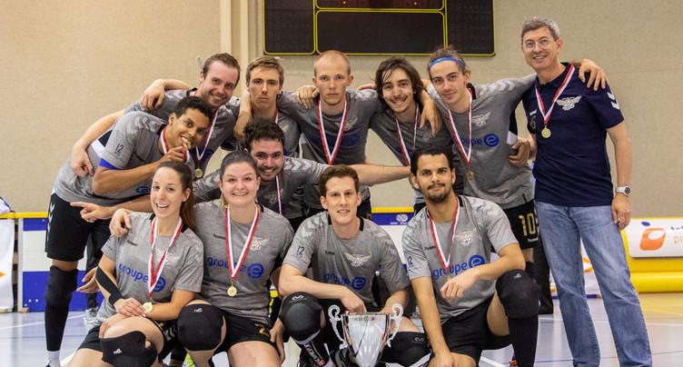 Les Val-de-Ruz Flyers champions de Suisse de tchoukball