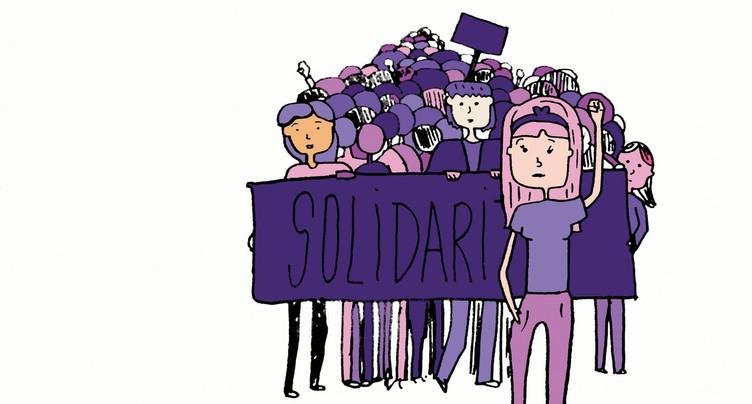 Des milliers de femmes se mobilisent pour la grève