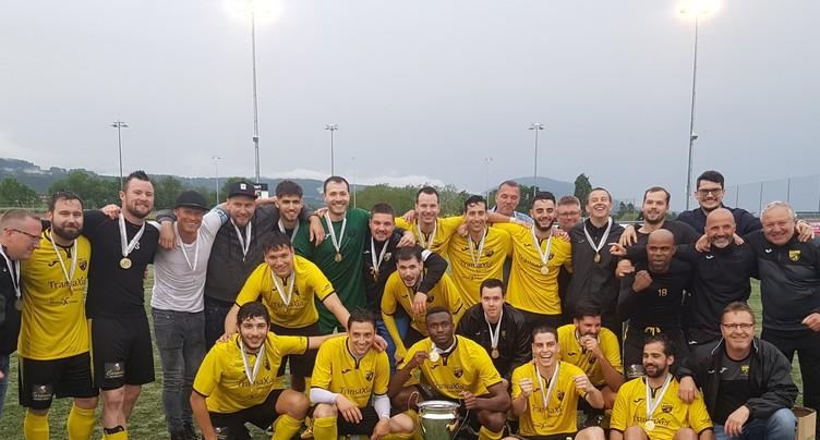 Le FC Marin sacré champion