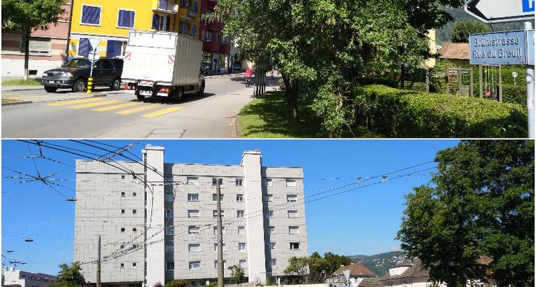 Deux quartiers en développement à Bienne