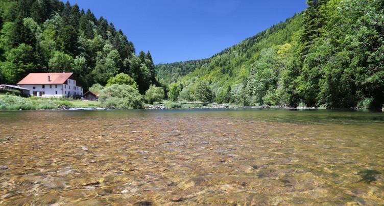 Cours d'eau du Jura : micropolluants toujours dans le viseur