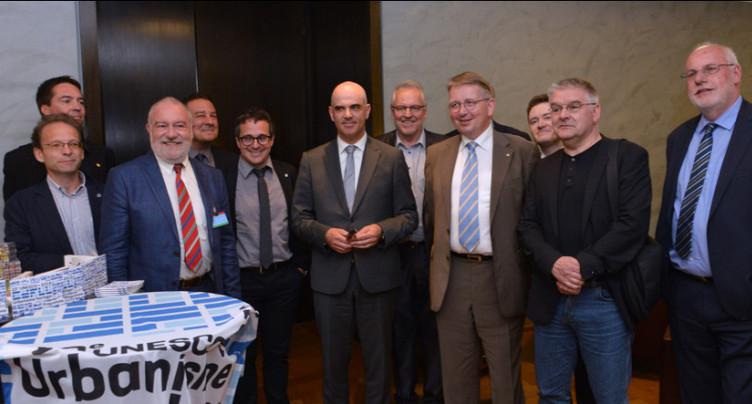 Neuchâtel lance les festivités de l'UNESCO au Palais fédéral