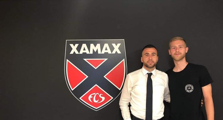 Léo Farine retrouve Xamax
