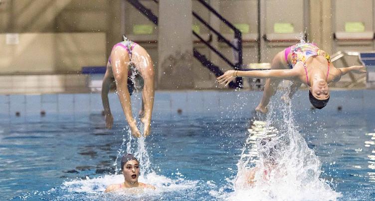 Ballet aquatique à Neuchâtel