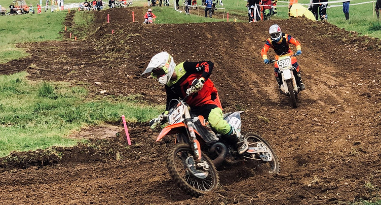 Le motocross des Verrières est passé entre les gouttes
