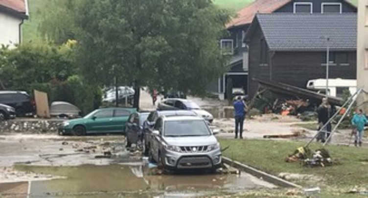 Les inondations de Val-de-Ruz devant le Grand Conseil