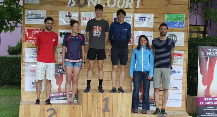 Les demi-frères neuchâtelois refont le coup au triathlon de Boncourt