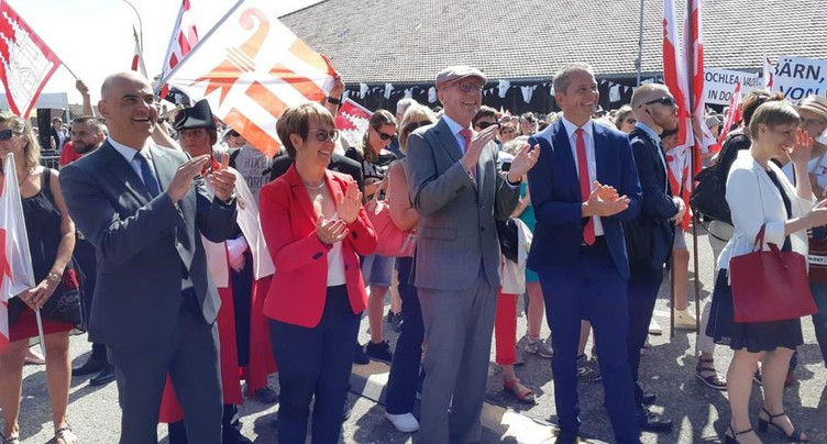 Journée festive pour les 40 ans du Jura