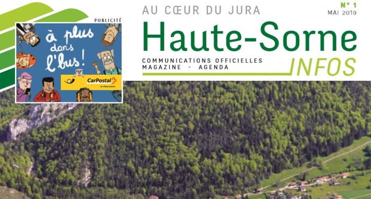 Haute-Sorne lance son magazine d'informations