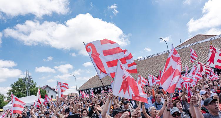 40 ans du Jura : Berne condamne