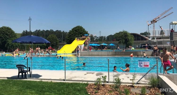 La piscine de Porrentruy rouvrira vendredi