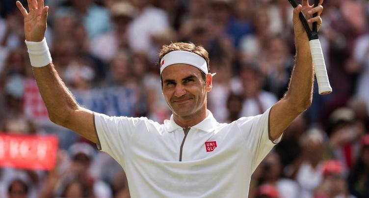 Roger Federer au rendez-vous des demies
