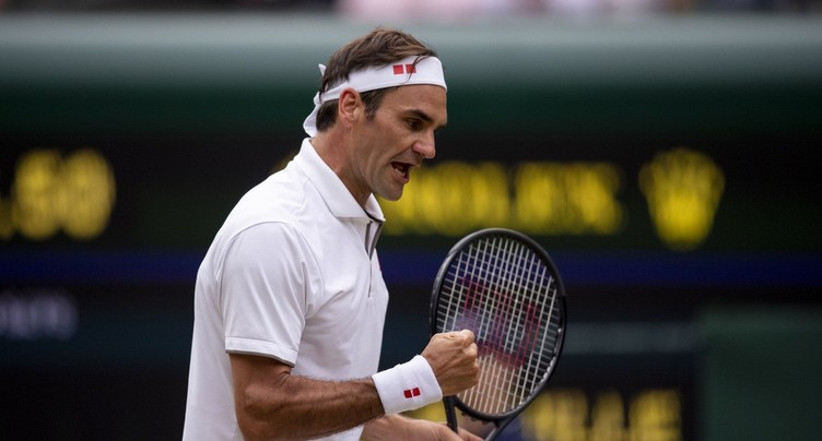 Roger Federer donne la leçon