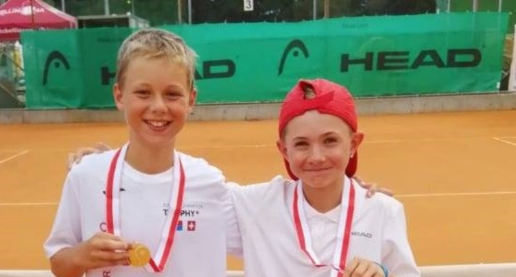 Un junior du TC Courrendlin-La Croisée champion de Suisse de double