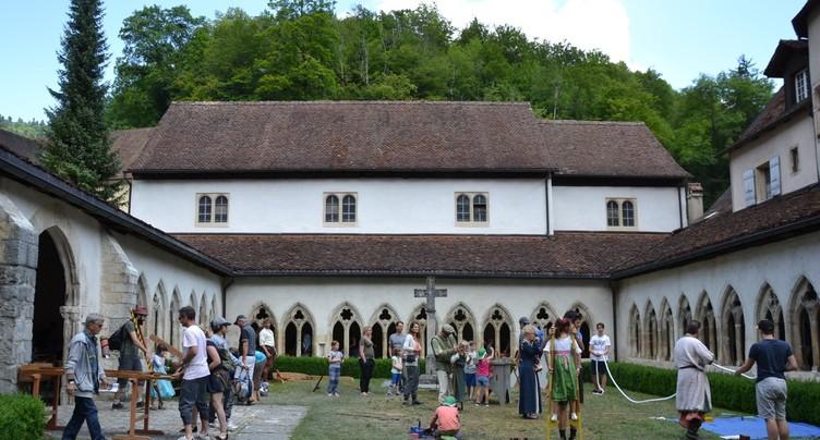Plus de 50'000 visiteurs se sont rendus aux Médiévales à St-Ursanne ce weekend