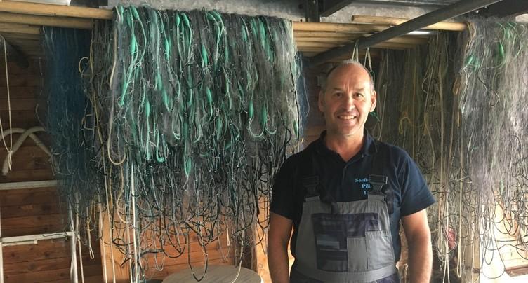 Saison compliquée pour les pêcheurs du lac de Bienne