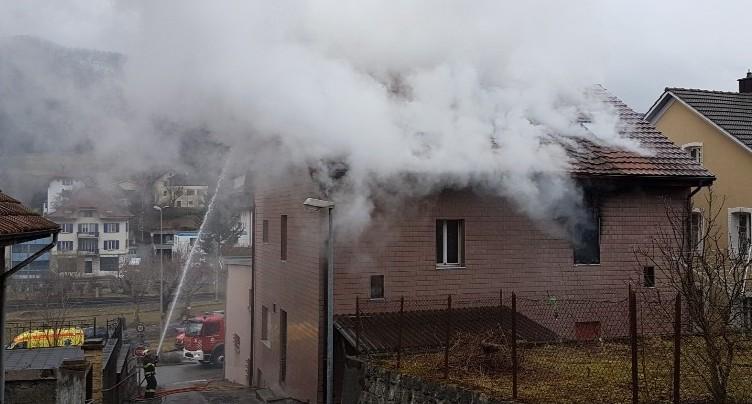 Une négligence à la base de l'incendie de Reconvilier