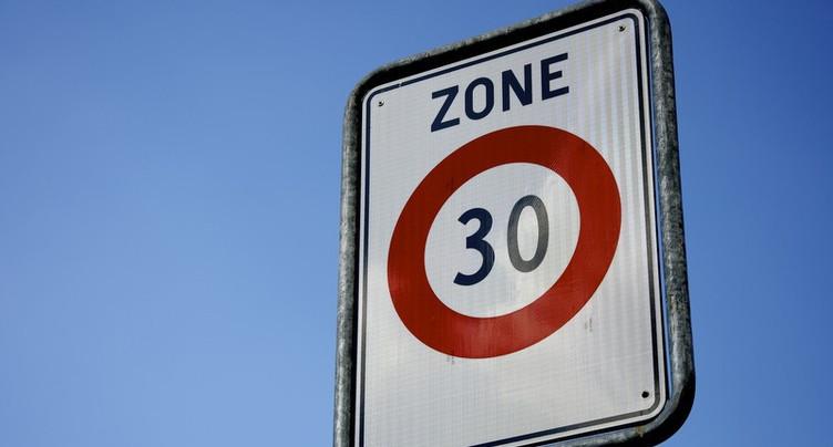 Pour une généralisation des zones à 30 km/h à Delémont
