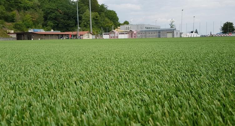 Remise au vert pour le terrain de foot du FC Hauterive