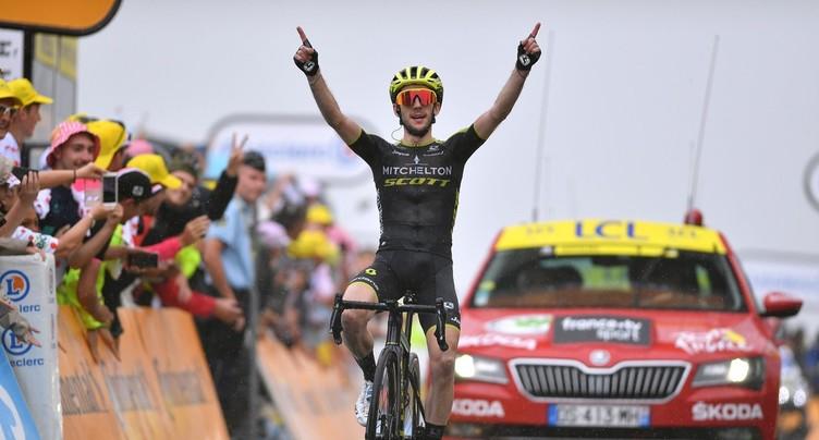Deuxième victoire d'étape pour Simon Yates