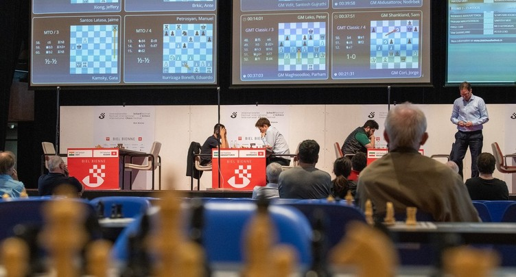 Bienne accueille un Festival international d'échecs revisité