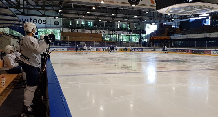 Le HC La Chaux-de-Fonds retrouve la glace
