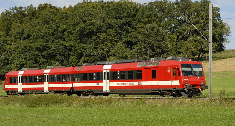 Trafic ferroviaire interrompu entre Saignelégier et Glovelier