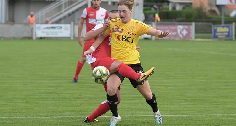 Le FC Bassecourt n'ira pas plus loin en Coupe de Suisse