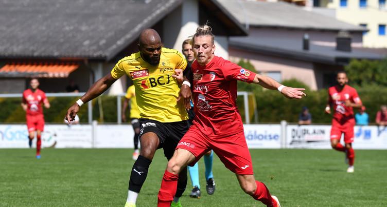 Le FC Bassecourt tombe contre le FC Bienne