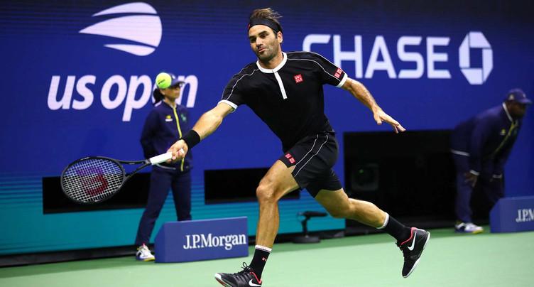 Roger Federer sorti par Grigor Dimitrov