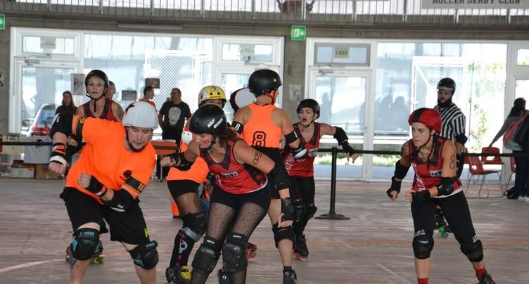 Roller derby à Neuchâtel