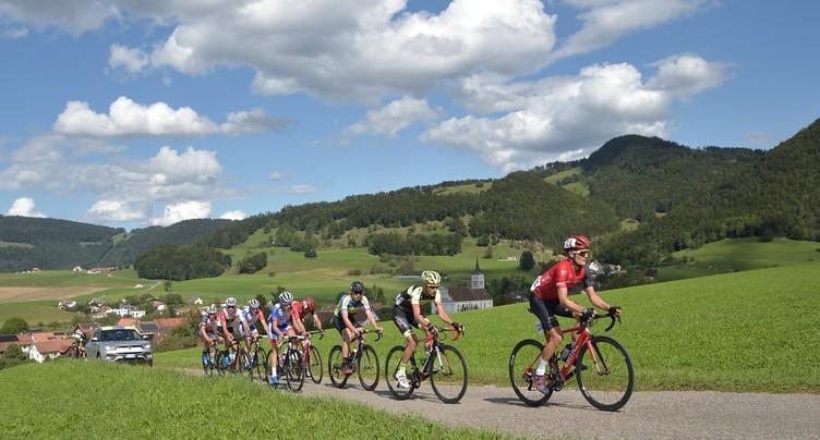 Le gratin des jeunes cyclistes suisses à Montsevelier