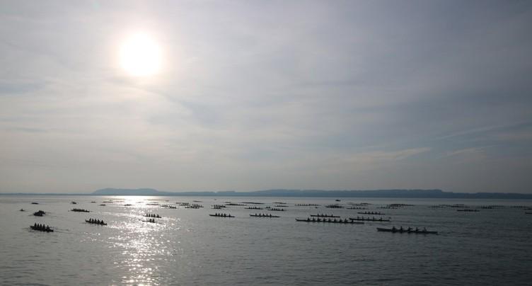 Lac calme et soleil pour la 18e Bilac