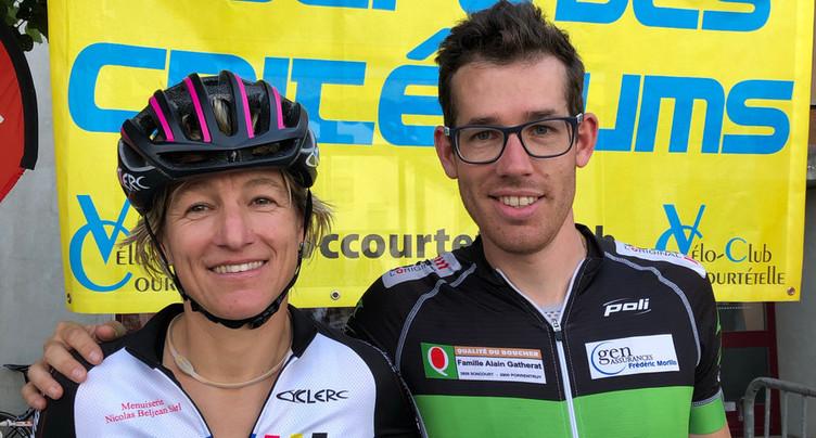 Romain Aubert et Sandra Stadelmann-Hushi s'adjugent la Coupe des Critériums