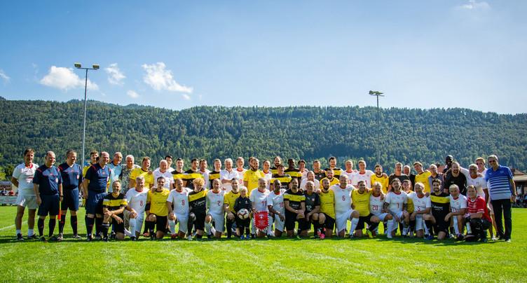 Le FC St-Imier tient tête aux Suisse Legends