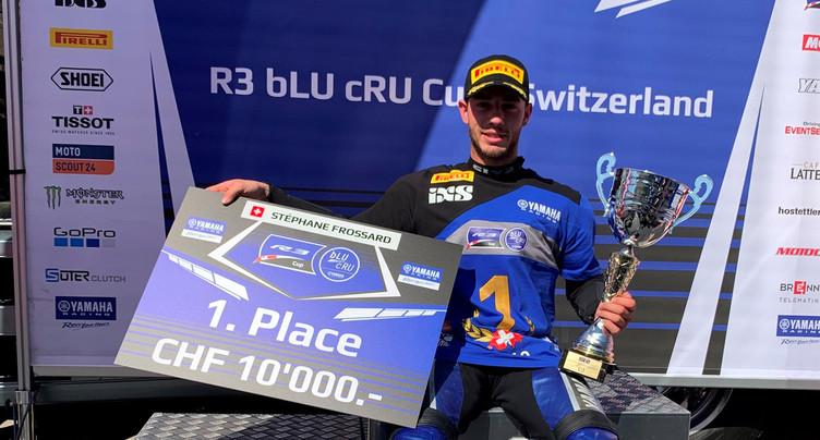 Stéphane Frossard champion !